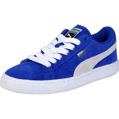 d3c42dd1177446 Puma - Kids  Suede Classic Jr Sneaker (Big Kid) - Snorkel Blue