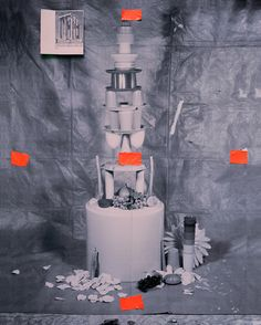 Corinthian Temple (Plastic Cups) Up at Foxy Production in NYC for the next month Exhibition Here