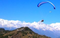 Paragliding in pokhara with ItrekNepal - Trekking at its best