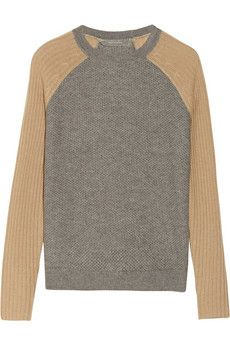 Reed Krakoff Honeycomb-knit cashmere sweater | NET-A-PORTER