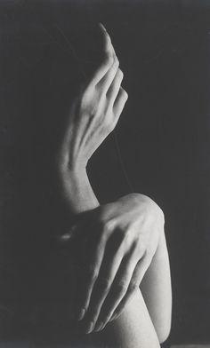 Jean Michel Kollar Abstract lights. Hands  1965