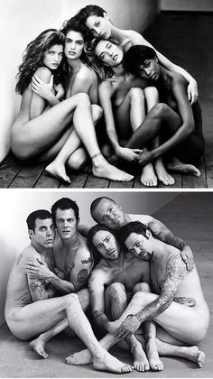 the Jackass boys show their soft feminine side.