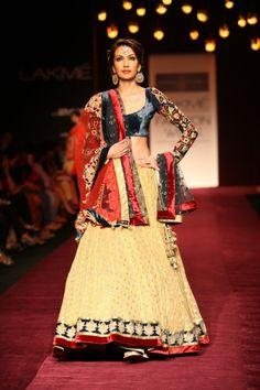 Lakmé Fashion Week – Shyamal and Bhumika at Lakmé Fashion Week Winter/Festive 2013  #lakmefashionweek #lakmefw #absoluteroyal