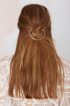 Gold Metallic Hair Pin