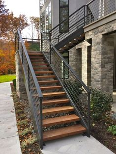 Outdoor Wood Stairs Design | JENNY | Pinterest | Wood Stairs, Woods And  Courtyard Pool