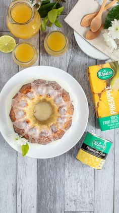 When you are short on time, convenience is the answer. We transform a regular cake mix into a delicious pineapple tea cake.