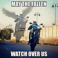 May the fallen watch over us.