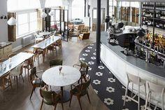Pimlico Road – Restaurant in Chelsea, Restaurants and bar in Pimlico, best restaurant Chelsea Restaurants In Chelsea, London Restaurants, Bar Design Awards, Restaurant Interior Design, Cafe Interior, Wine Bar Design, London Cafe, Bar A Vin, Fusion Design