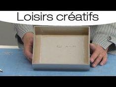 Créer une boite à bijoux en carton : mode d'emploi - YouTube