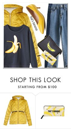 """That's bananas"" by paculi ❤ liked on Polyvore featuring 'S MaxMara and Kate Spade"