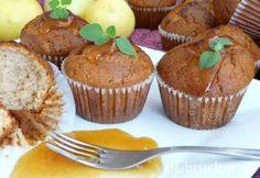 Fotorecept: Jablkové muffiny Cap Cake, Cooker, Muffins, Food And Drink, Breakfast, Recipes, Nova, Basket, Fine Dining