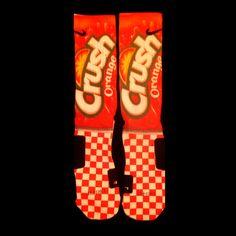 Crush Inspired Custom Nike Elite Socks by InWestCoastCreations