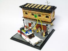 Ghostbusters Ghostbusters 3, Lego Tv, Lego Marvel, Lego Creations, Nintendo Consoles, Toys, Killer Whales, Lego Ideas, Writing