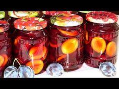 (1) Маринованные сливы на зиму, вкусный рецепт без стерилизации - YouTube