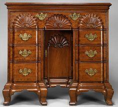 Bureau Table, 1765, John Townsend,( 1733-1809) Newport, Rhode Island