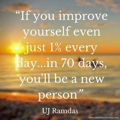 UJ Ramdas Quote Latterday Morning