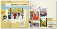 "Wanderful: 12"" x 12"" Destination Layout"