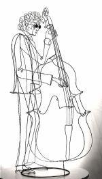 Rudy Kehkla wire sculpture
