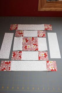 COOL IDEA!  crazy mom quilts: quilt-a-long, week 1. Must learn to quilt.. but do I have the patience???