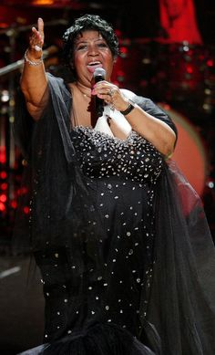 the Queen of Soul, Aretha Franklin, twice
