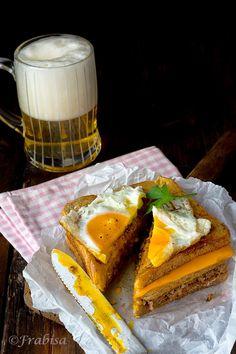 La Cocina de Frabisa   Sandwich Croque-Madame