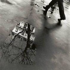 Place St. Augustin, Paris, 1993: by Louis Stettner