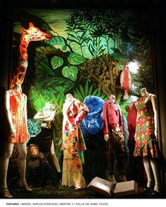 : literary glam    Bergdorf Goodman's Literary Windows