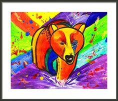 #BearPainting #PopArtPrint #InstantDownload #Print #Painting #PopArt #kidswallartdecor by #JuliaApostolova #NurseryArt #KidsArt #KidsRoomDecor by #JuliaApostolova