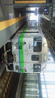 ローカル電車 福山駅