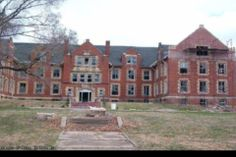 Liberty - Odd Fellows Insane Asylum - This is an old insane asylum, hospital, and old folks home operating since the early 1900's.