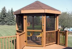 Gazebos For Decks Elevated Deck With Attached Corner