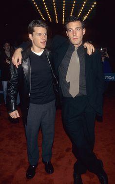 Matt Damon and Ben Affleck, 1997