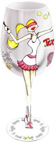 Bottom's Up 15-Ounce Tennis Anyone? Handpainted Wine Glass, http://www.amazon.com/dp/B002Q3MFXO/ref=cm_sw_r_pi_awdl_cl-.ub1D68448