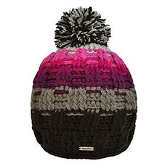 Toutacoo, Handmade Multicoloured Bobble Hat Quito ** Click image to review more details.