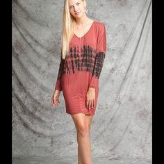 Long sleeve V neck dress Long sleeve V neck dress Dresses Long Sleeve