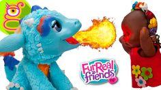 Torch Mi Dragón Mágico chamusca a la bebé Martina - Hasbro's Fur Real Fr...