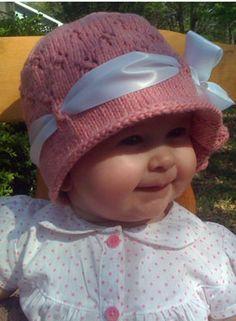 The Cora Cloche - Knitting Patterns and Crochet Patterns from KnitPicks.com