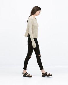 zara jeans donna superskinny neri - Cerca con Google
