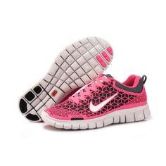 buy popular e3dfe e6e9a Billig faux Dame Nike Free 6.0 Rosa Hvit Sko Nike Free Shoes, White Shoes,