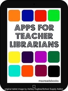 O Reads Books: Apps for Teacher Librarians Part Media Creation – Chrissy Adkins Ms. O Reads Books: Apps for Teacher Librarians Part Media Creation Ms. O Reads Books: Apps for Teacher Librarians Part Media Creation Library App, Library Skills, Library Books, Free Library, Middle School Libraries, Elementary School Library, Elementary Schools, School Library Lessons, Library Science