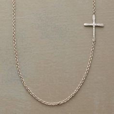 Linked Cross Necklace