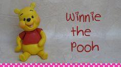 Winnie the Pooh Cake Topper Tutorial How to Make - Come fare Winnie the ...