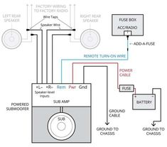 subwoofer amp wiring diagram 924 best wiring chart picture images in 2020 diagram  electrical  924 best wiring chart picture images in