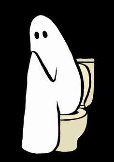 Jean Jullien's online portfolio: ghost poops