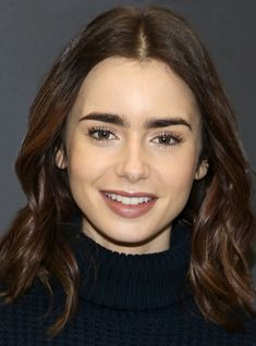 There's A Twitter Account For Lily Collin's Brows, Because Look At Them+#refinery29