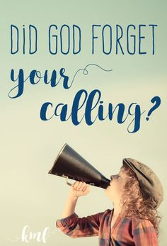 """Why does everyone but you seem to know what their """"calling """" is? Find out here!"""