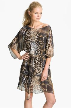 Adorable!! Abi Ferrin 'Nicola' Convertible Chiffon Dress available at #Nordstrom