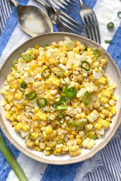 This sautéed corn is the easiest side dish recipe and SO delicious! The best thing to do with corn off the cob! #CornRecipe #SautéedCorn #CornOffTheCob Pasta Side Dishes, Side Dishes For Bbq, Healthy Side Dishes, Fall Dishes, Thanksgiving Side Dishes, Dinner Dishes, Corn Recipes, Side Dish Recipes, Veggie Recipes