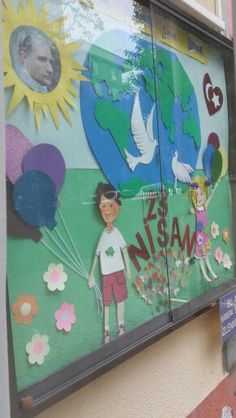#23nisan #pano #Atatürk #cocuk #Türkiye #İstanbul #23NisanUlusalEgemenlikveCocukBayrami #TugbaKEPCELI #HülyaKAÇAR Puppet Crafts, Grammar Rules, Child Day, Our Planet, Classroom Decor, Special Day, Backdrops, Preschool, Children