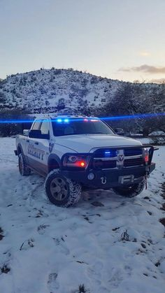 Pineal County, AZ Sheriff, Search and Rescue Dodge